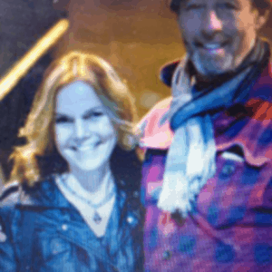 Margit Gossage and Barney Bentall at the Sagebrush Theatre