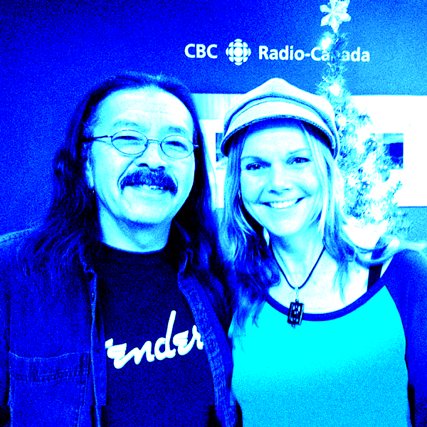 Margit and Rod at CBC