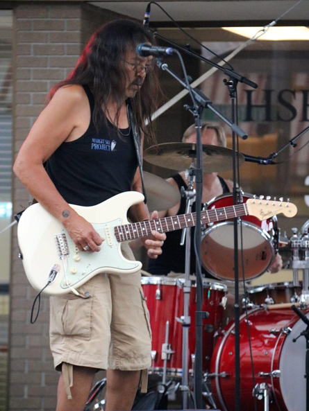 Rod Bandura playing at Hot Nite in the City, Kamloops, BC